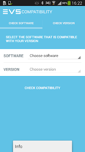 EVS Software Compatibilities- screenshot thumbnail