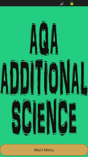 GCSE Additional Science - AQA