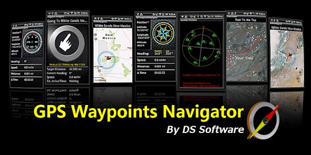 GPS Waypoints Navigator - screenshot thumbnail