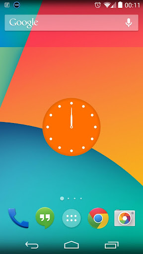 Xtra.time Clock Widget