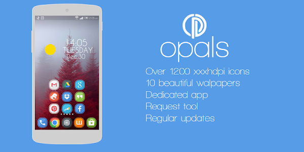 Opals - icon pack v1.0.4