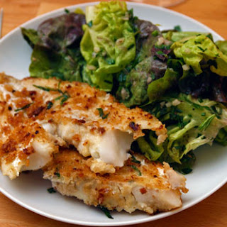 Cod with Tarragon-Anchovy Breadcrumbs