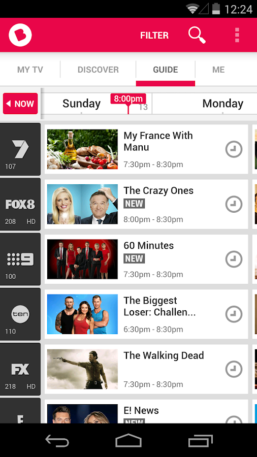 Beamly TV, by zeebox - screenshot