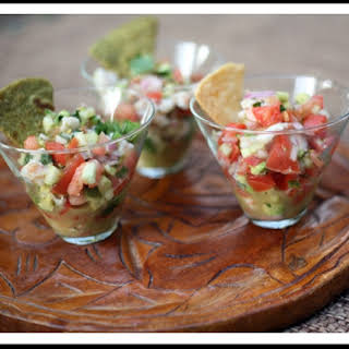 Shrimp Ceviche.
