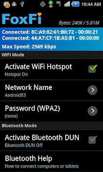 FoxFi (WiFi Tether w/o Root)