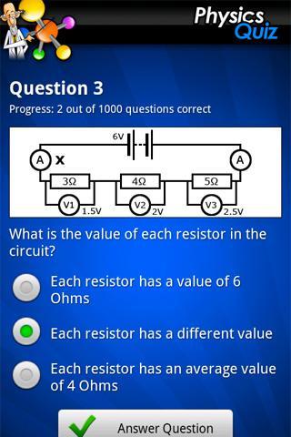 FreePlay Physics Quiz- screenshot