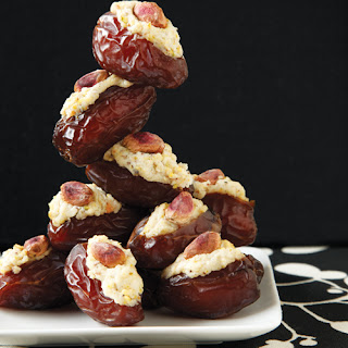 Stuffed Dates with Ricotta.