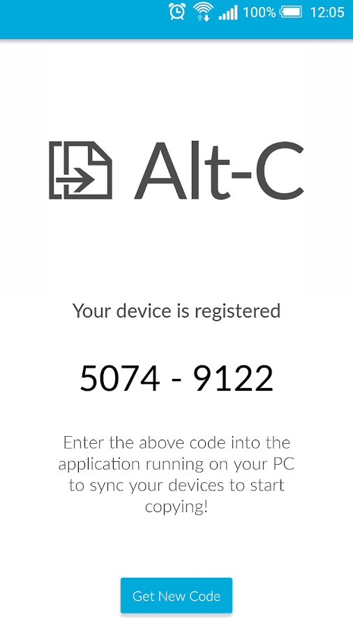 Alt-C- screenshot