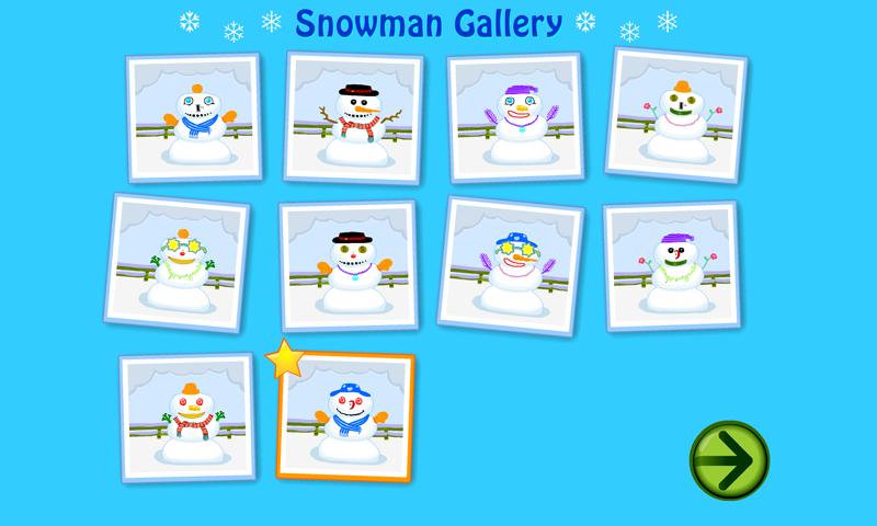 starfall snowman screenshot - Starfall Color