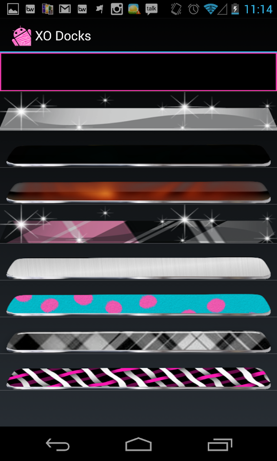 Pink Zebra theme and icon pack- screenshot
