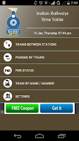 Screenshot of IRTTT