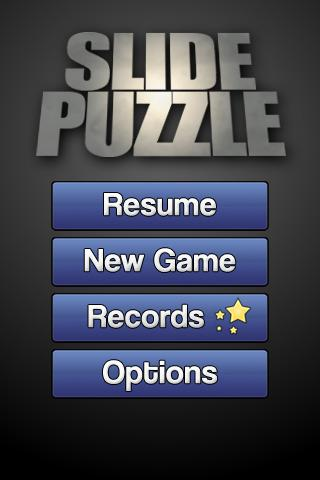 Simple Slide Puzzle - screenshot