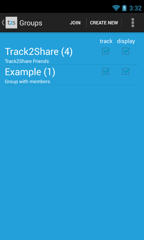 track2share - screenshot