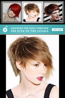 Screenshot of Hair Styles Book