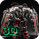 Robot 3D Live Wallpaper apk free download