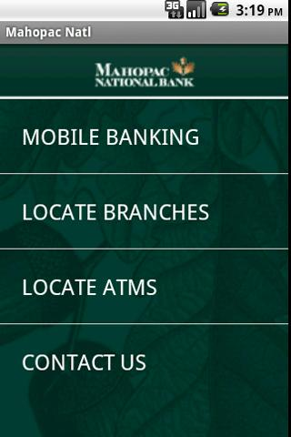 Mahopac National Bank Mobile - screenshot