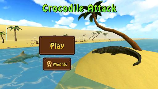 Crocodile Attack 3D Simulator