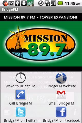 The Bridge Christian Radio - screenshot