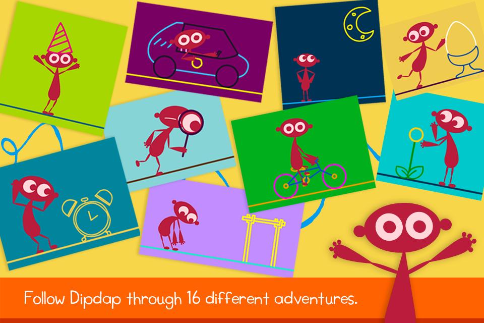 Dipdap- screenshot