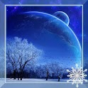 Winter Moon Live Wallpaper icon
