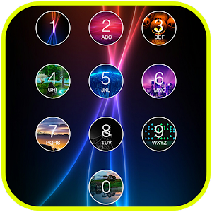 Photo Keypad Lock Screen App icon
