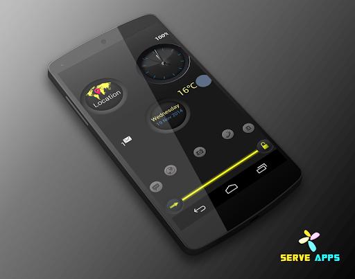 黑色圆圈屏幕锁定|玩個人化App免費|玩APPs