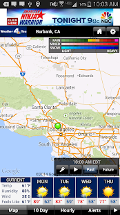 NBC LA Weather - screenshot thumbnail
