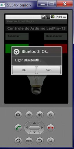 Bluetooth Arduino LedPin13