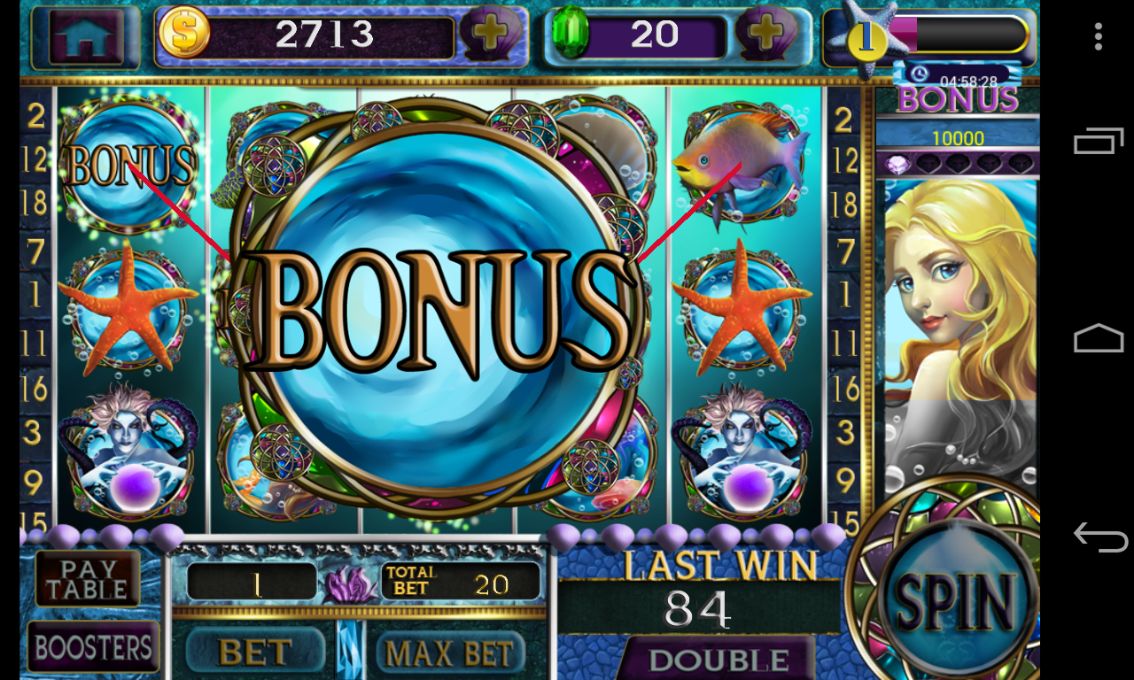 Mermaid's Pearl Slot Machine - Try for Free Online