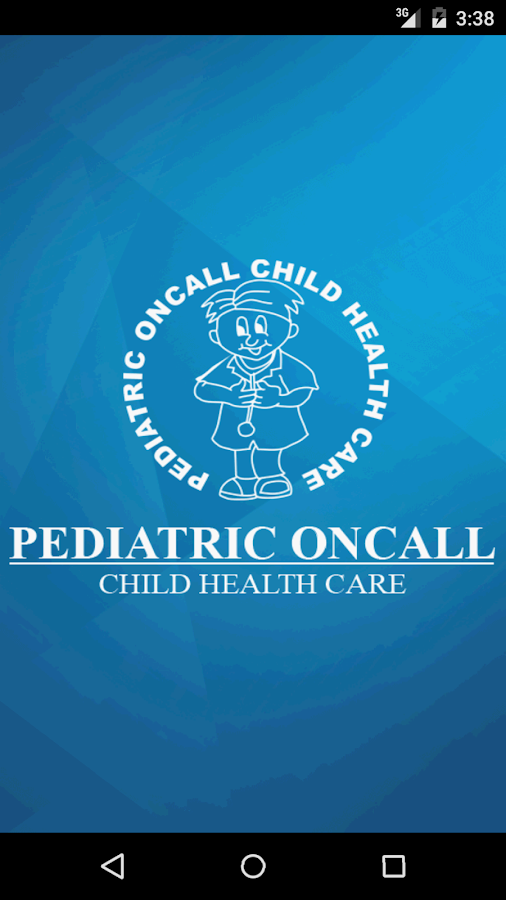 Pediatric Oncall- screenshot