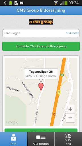 CMS Group Bilförsäljning