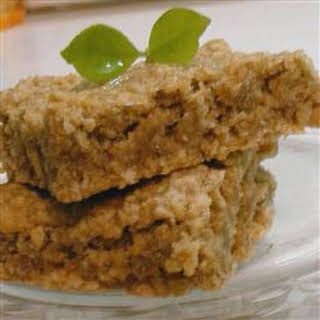 Apple Oatmeal Bar Cookies.