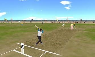 Screenshot of Beach Cricket