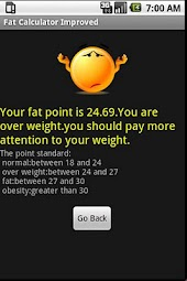 Fat Calculator Improved