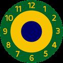Brazil 2013 clock icon