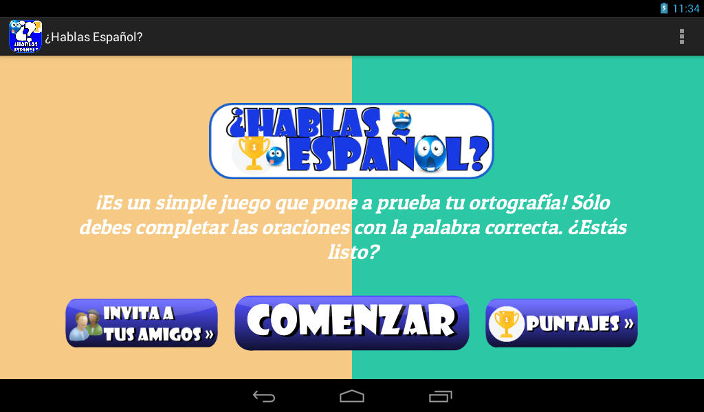 Do you speak Spanish? Trivia- screenshot