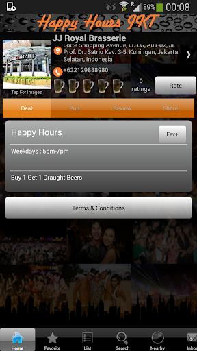 Happy Hours Jakarta|玩生活App免費|玩APPs