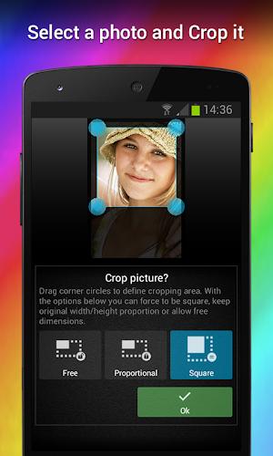Wizard Photo Editor app screenshot