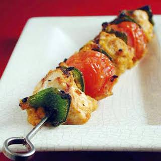 Swordfish Kebabs.