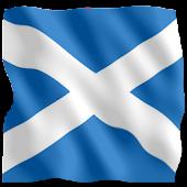 3D Flag Scotland LWP