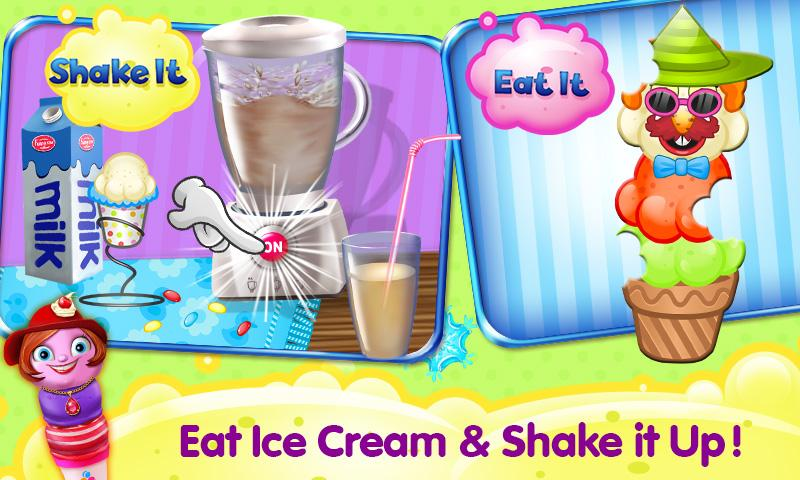 Ice Cream D'Lite Crazy Chef- screenshot