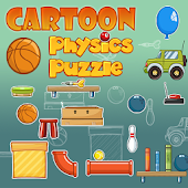 Cartoon physics puzzle