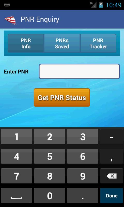 Indian Rail Train & IRCTC Info - screenshot