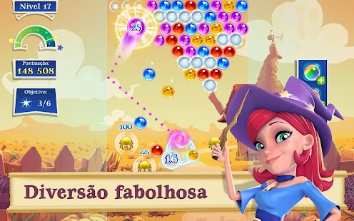 Bubble Witch 2 Saga Screenshot