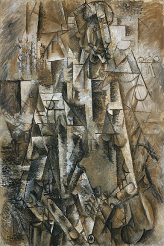 "Poet-Picasso-Guggenheim-Venice - ""The Poet"" (1911), oil on linen by Picasso, part of the Guggenheim Collection in Venice."