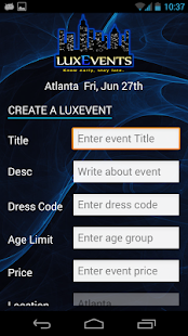 LuxEvents- screenshot thumbnail
