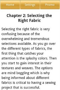 Sewing Guide - screenshot thumbnail