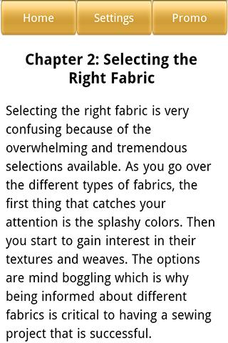 Sewing Guide - screenshot