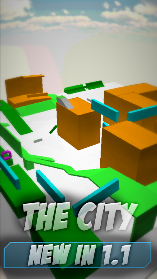 Parkour City- screenshot