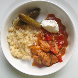 Red Pepper Chicken Paprika